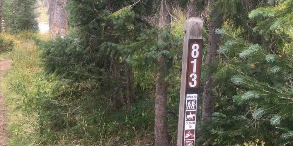 Alberta Peak Trail