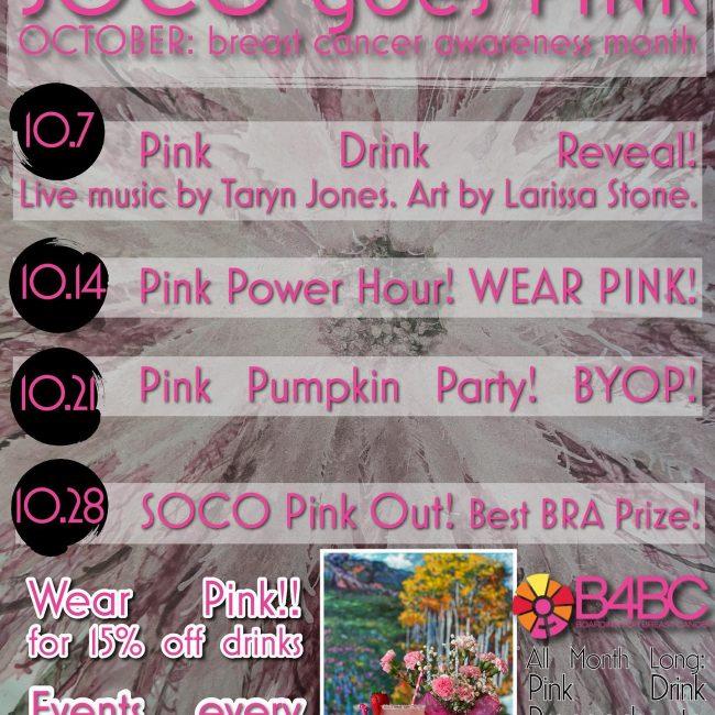 Motel Soco Goes Pink!