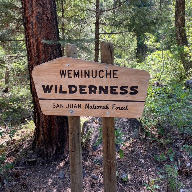 East Fork Weminuche Creek Trail